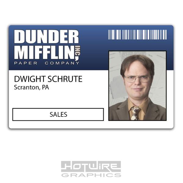 Plastic ID Card (TV & FILM Prop)