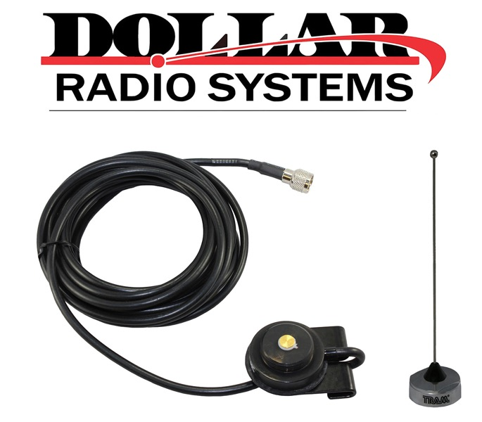 Antenna Trunk Mount UHF NMO Motorola XPR5550 PM400 CM200 MAXTRAC CM300D Mobile