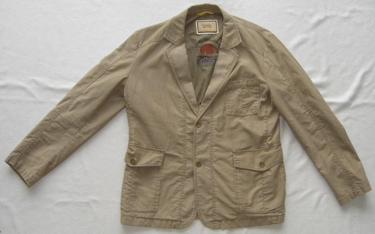 factory price bc8e4 2be33 Details zu Camel Active Herren Sommer Jacke Größe 52 Zustand Wie Neu