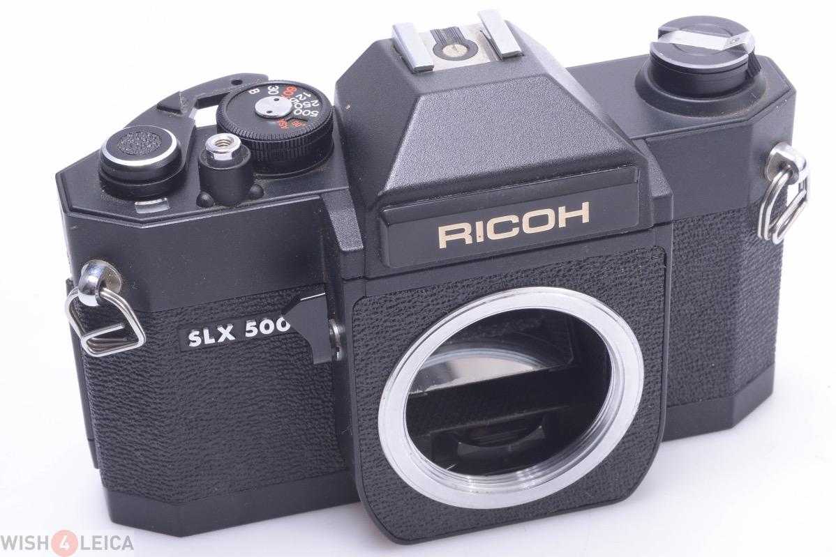 RICOH SLX500, SLX 500 WORKS 100% 35MM SLR CAMERA M42 MOUNT