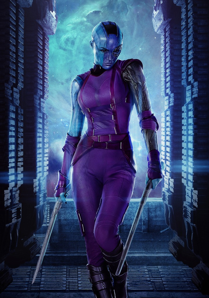 A3 /& A4 Guardians of the Galaxy ~ Nebula ~ Posters Option 17