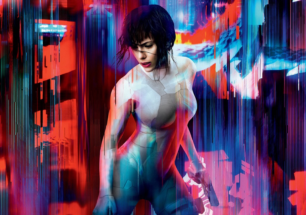 Ghost In The Shell Movie Photo Print Poster Film Scarlett Johansson Textless 001 Ebay