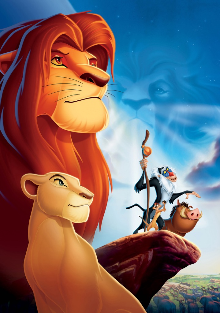 THE LION KING Movie PHOTO Print POSTER Textless Film Art Comedy Family Cartoon 2
